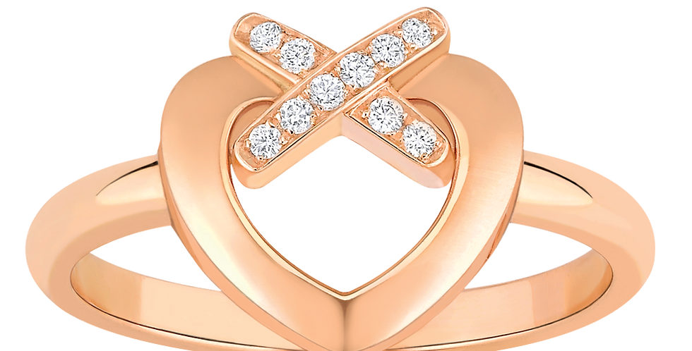 CHAUMET LIENS HEART RING