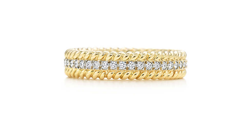 TIFFANY & CO. SCHLUMBERGER® Rope Two-row Ring