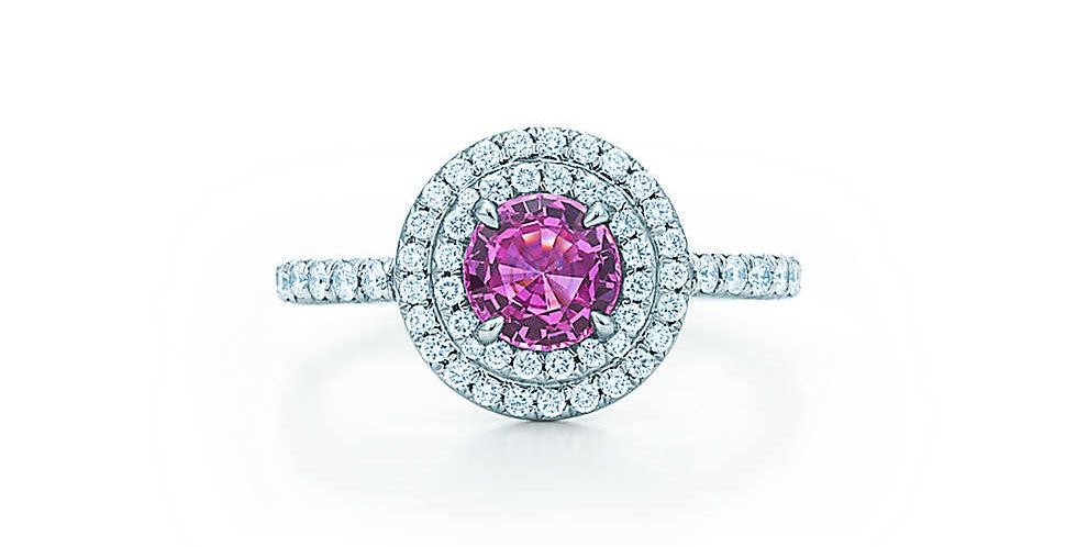 TIFFANY SOLESTE® Pink Sapphire Ring