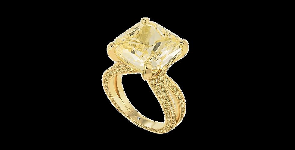 Messika Solitaire Diamant Jaune