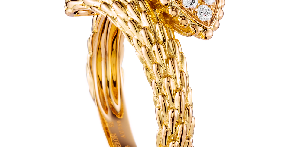Boucheron Serpent Bohème Small Ring