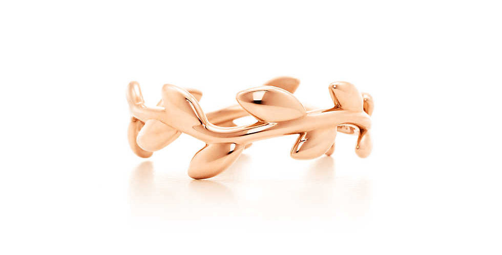 PALOMA PICASSO® Olive Leaf Band Ring
