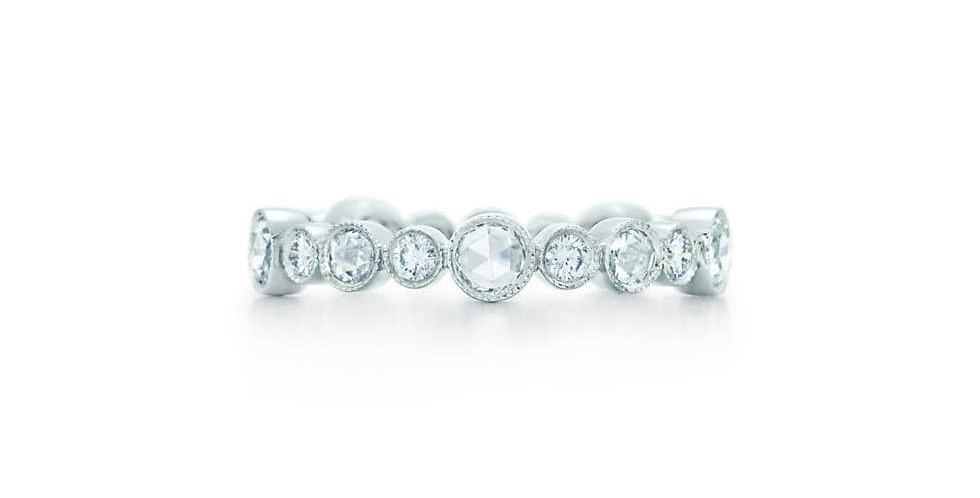 TIFFANY COBBLESTONE Diamond Band Ring