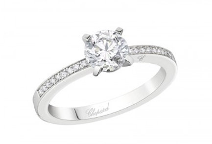 CHOPARD FOR EVER RING PAVÉ 0.7 ct.