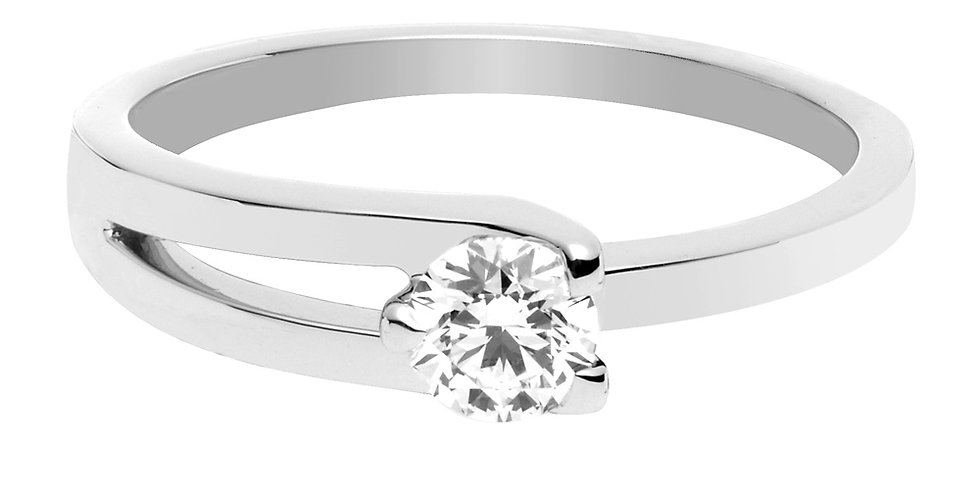 FRED Amour Fou engagement ring 0.30 ct.