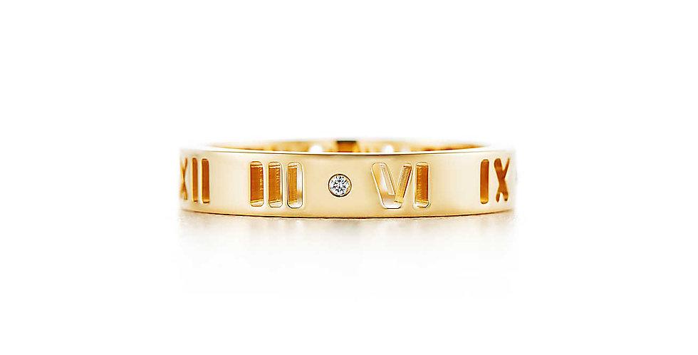 ATLAS® Pierced Ring