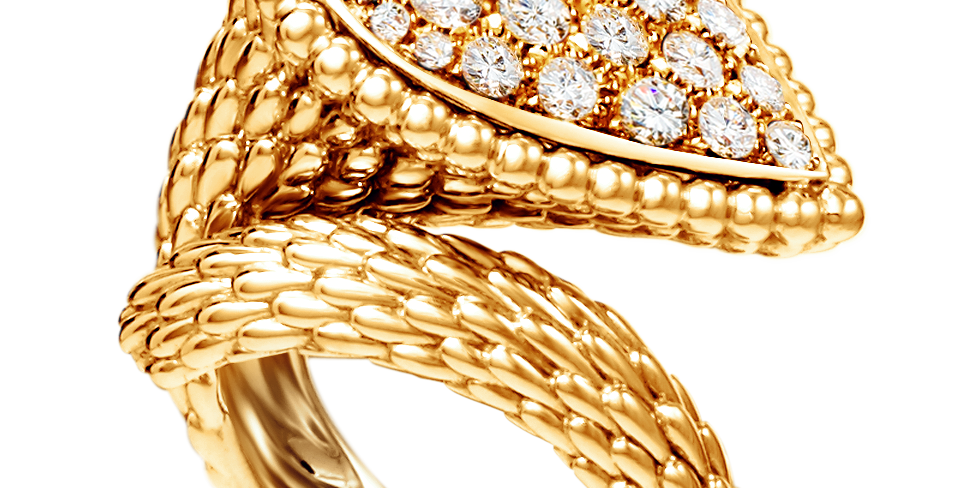 Boucheron Serpent Bohème Large Ring