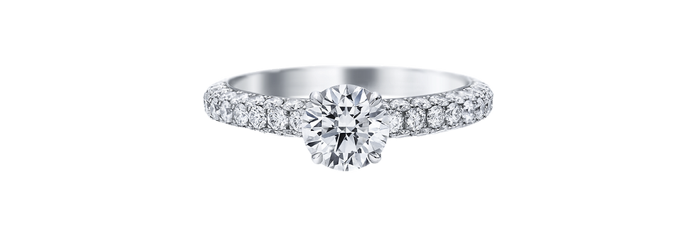 Attraction by Harry Winston, Round Brilliant