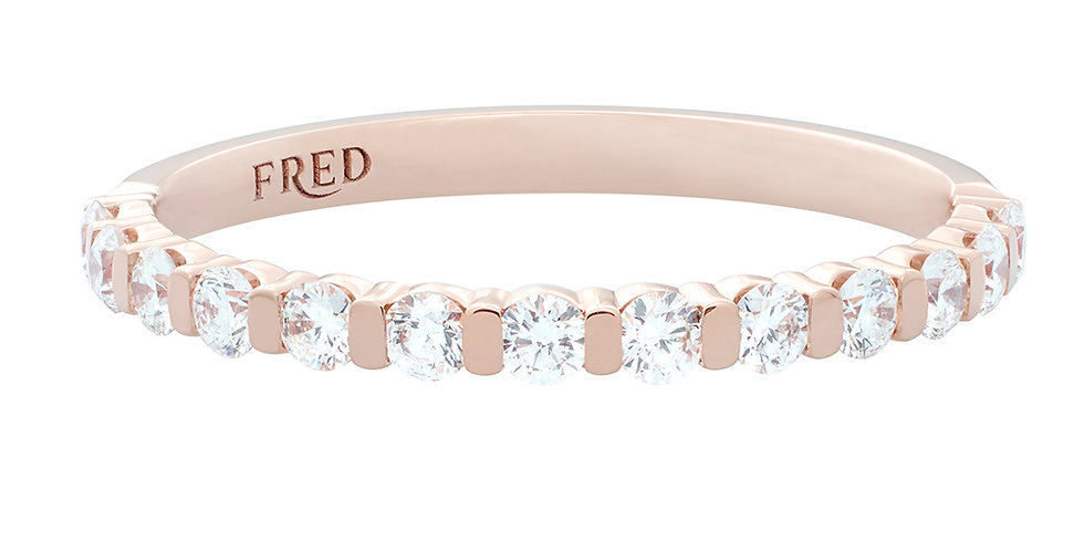 FRED For Love Diamonds Wedding Band