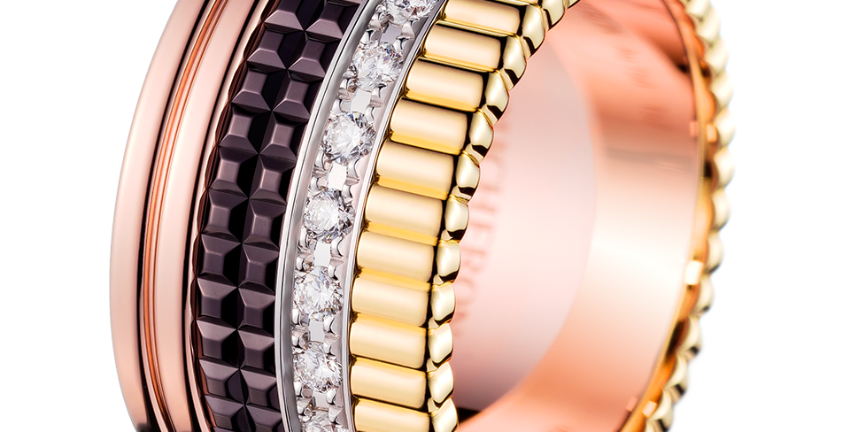 Boucheron Quatre Classique Large Diamond Ring