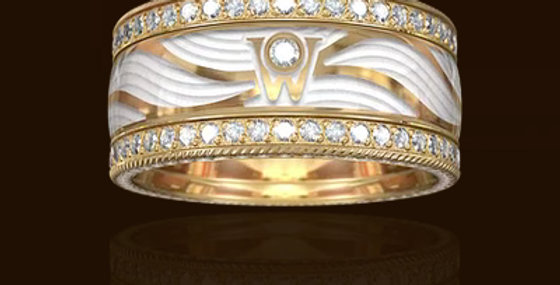 RING DIAMOND WINGS