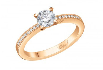 CHOPARD FOR EVER RING PAVÉ 0.5 ct.