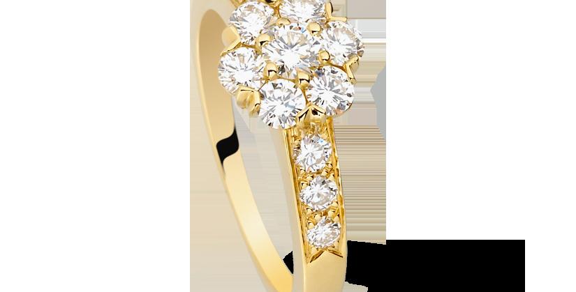 Van Cleef & Arpels Fleurette ring, small model