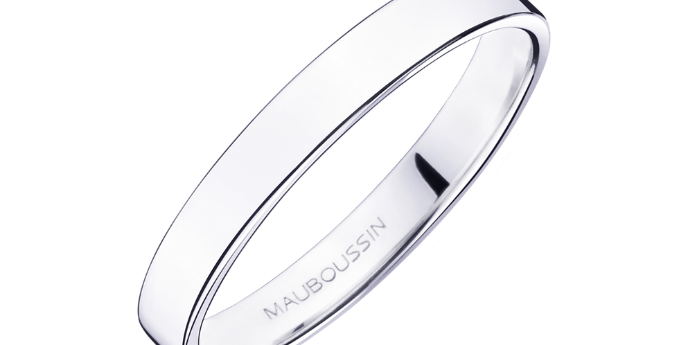 Bonheur Wedding Band (3,0mm)
