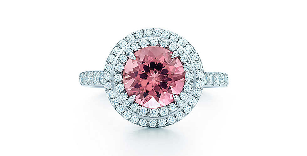 TIFFANY SOLESTE® Pink Tourmaline Ring