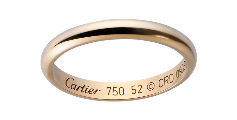 Cartier Classic Wedding band
