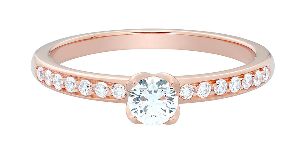 FRED Delphine engagement ring 0.20 ct.