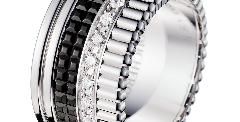 Boucheron Quatre Black Edition Diamond Large Ring