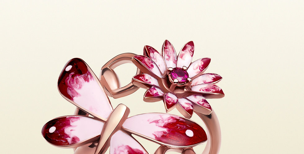 Gucci Flora ring