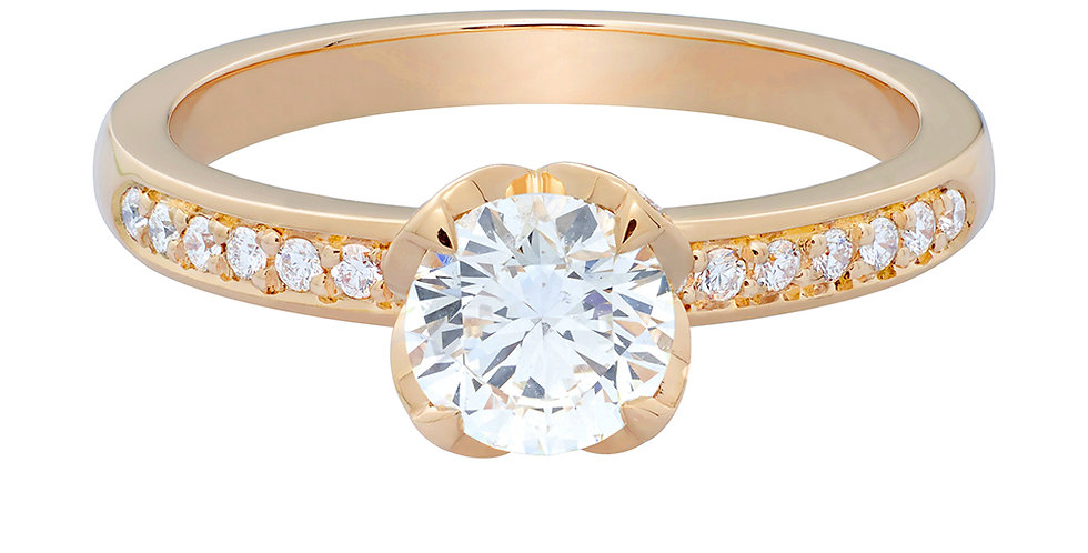 FRED Delphine engagement ring 0.70 ct.