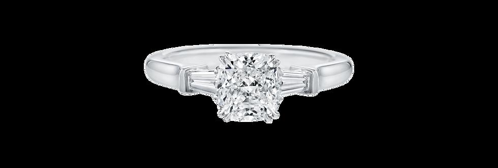 Classic Winston™, Cushion-Cut Engagement Ring