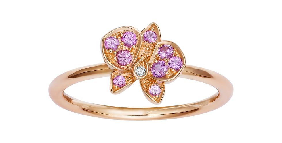Caresse D'orchidées Par Cartier Ring