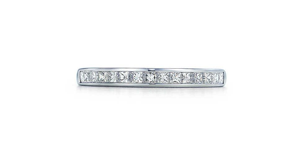 Princess Cut Band Ring