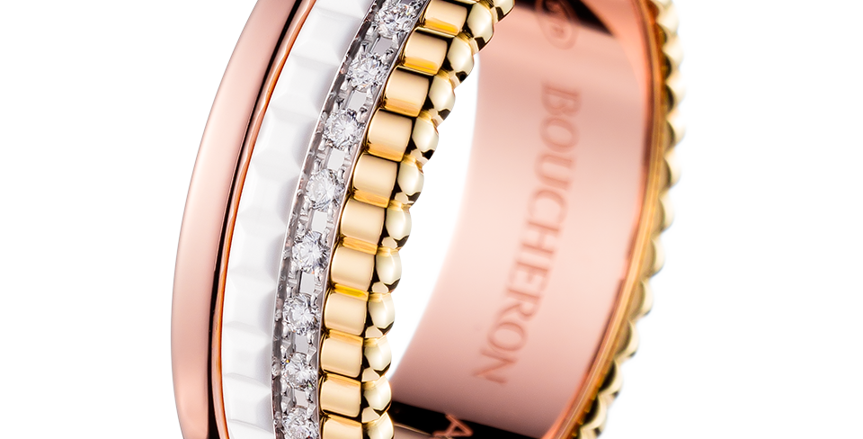 Boucheron Quatre White Edition Small Diamond Ring