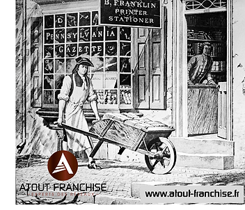 Benjamin Franklin, pionnier de la franchise