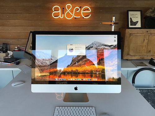Mid 2011 SpeedThrills™  Apple iMac 27in, 3.4GHz Intel Core i7