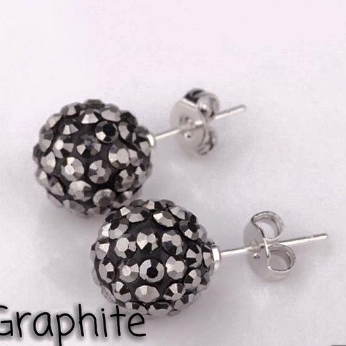 Graphite earrings!