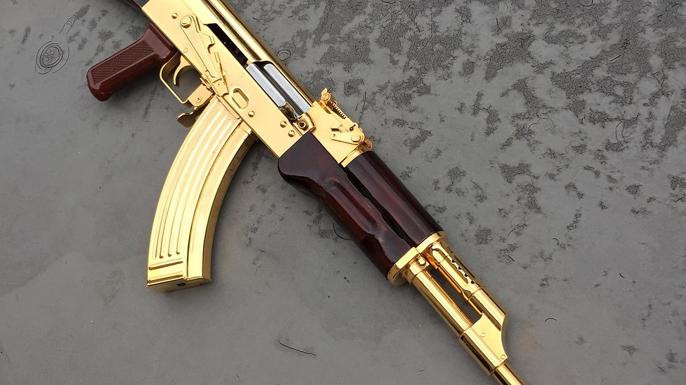 RASCALS 24kt Gold Plated  $5850.00