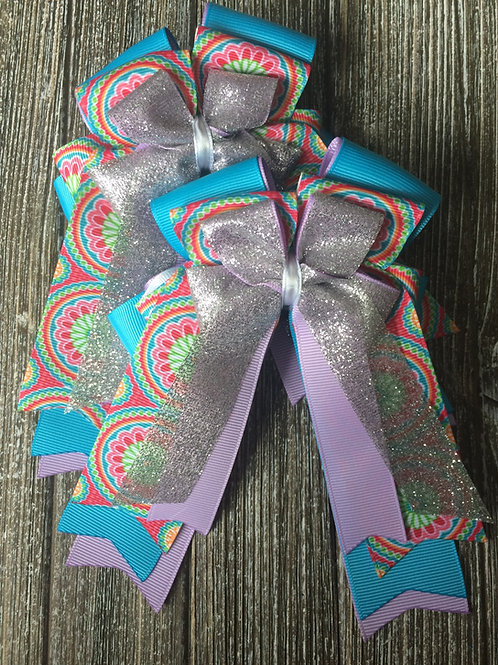 Funky sparkle bows!