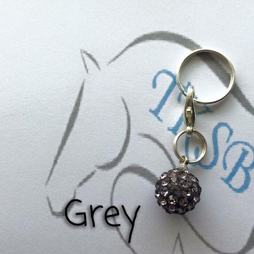 Grey bridle charm!