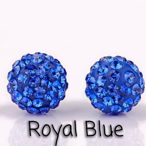 Royal blue earrings!