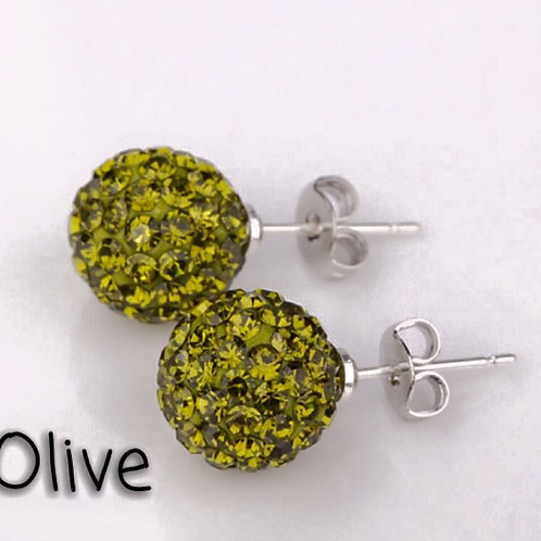 Olive earrings!