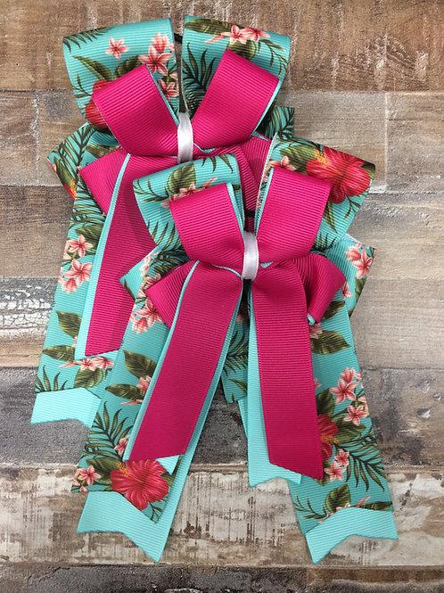 Hawaiian themed bows!