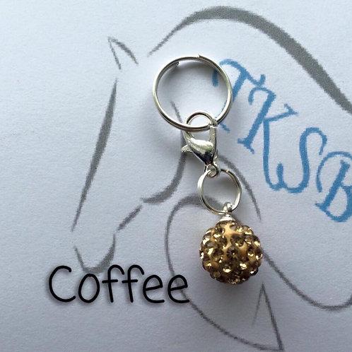 Coffee bridle charm!