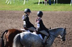 Anna & Jocelyn with their ponies!