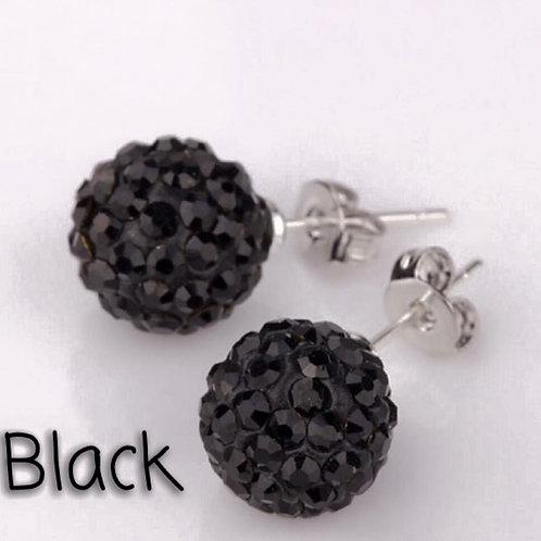 Black earrings!