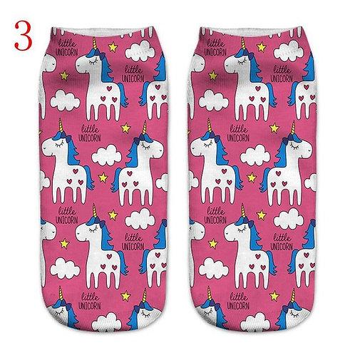 Pink Unicorn Socks!