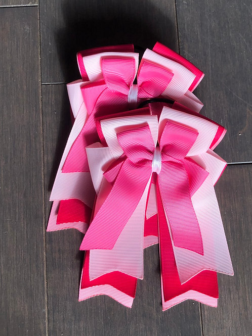 Pink on pink bows!