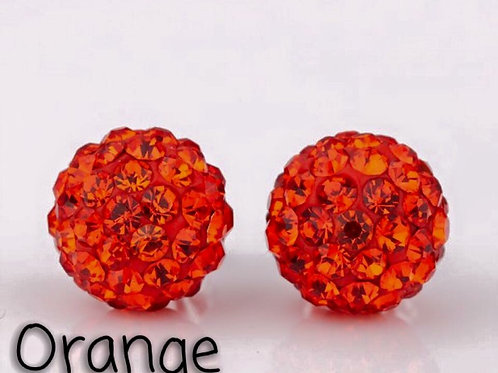 Orange earrings!
