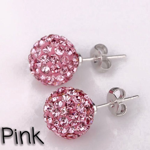 Pink earrings!