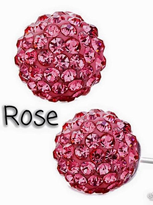 Rose earrings!