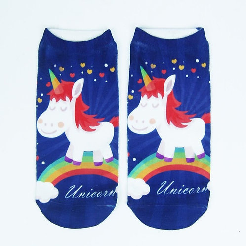 Rainbow Unicorn Socks!