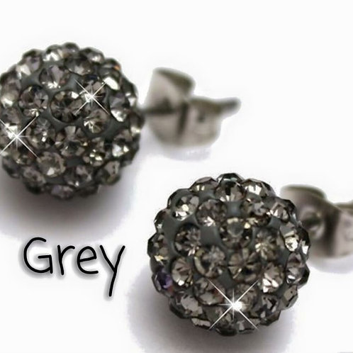 Grey earrings!