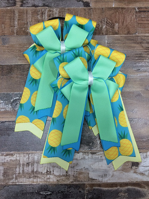 Pineapple bows!