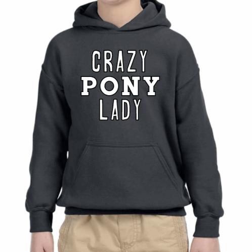 Crazy pony lady
