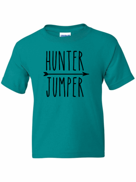 Hunter Jumper tee!